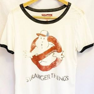 Tops - Stranger things ghostbusters shirt